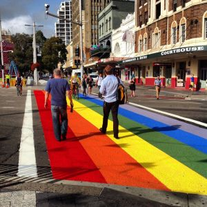The Original Rainbow Crossing